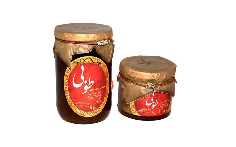 طراحی بسته بندی عسل طوبی