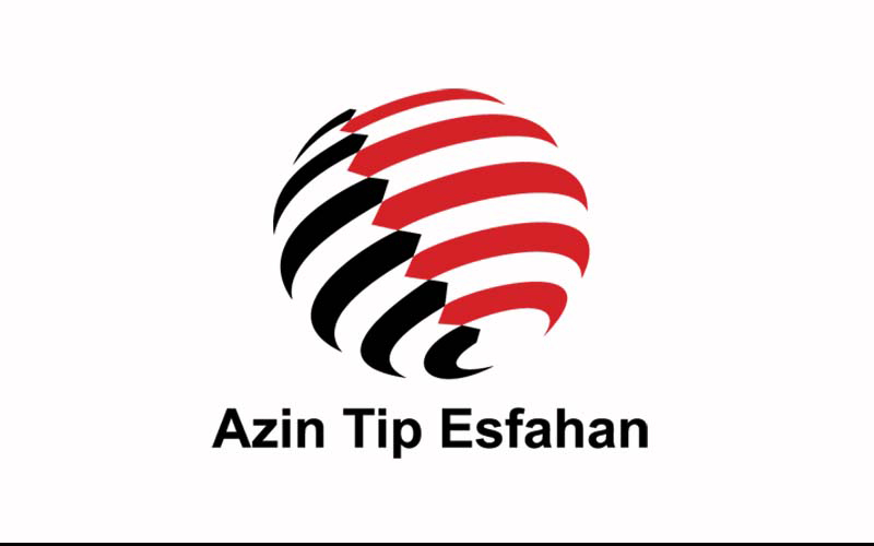 طراحی نشان شرکت آذین تیپ اصفهان