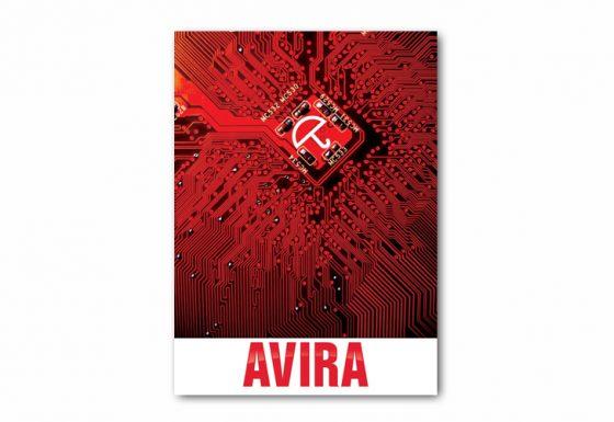 طراحی آگهی شرکت AVIRA