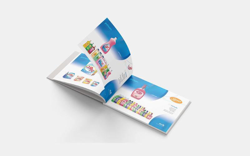 طراحی کاتالوگ شرکت پاکسان